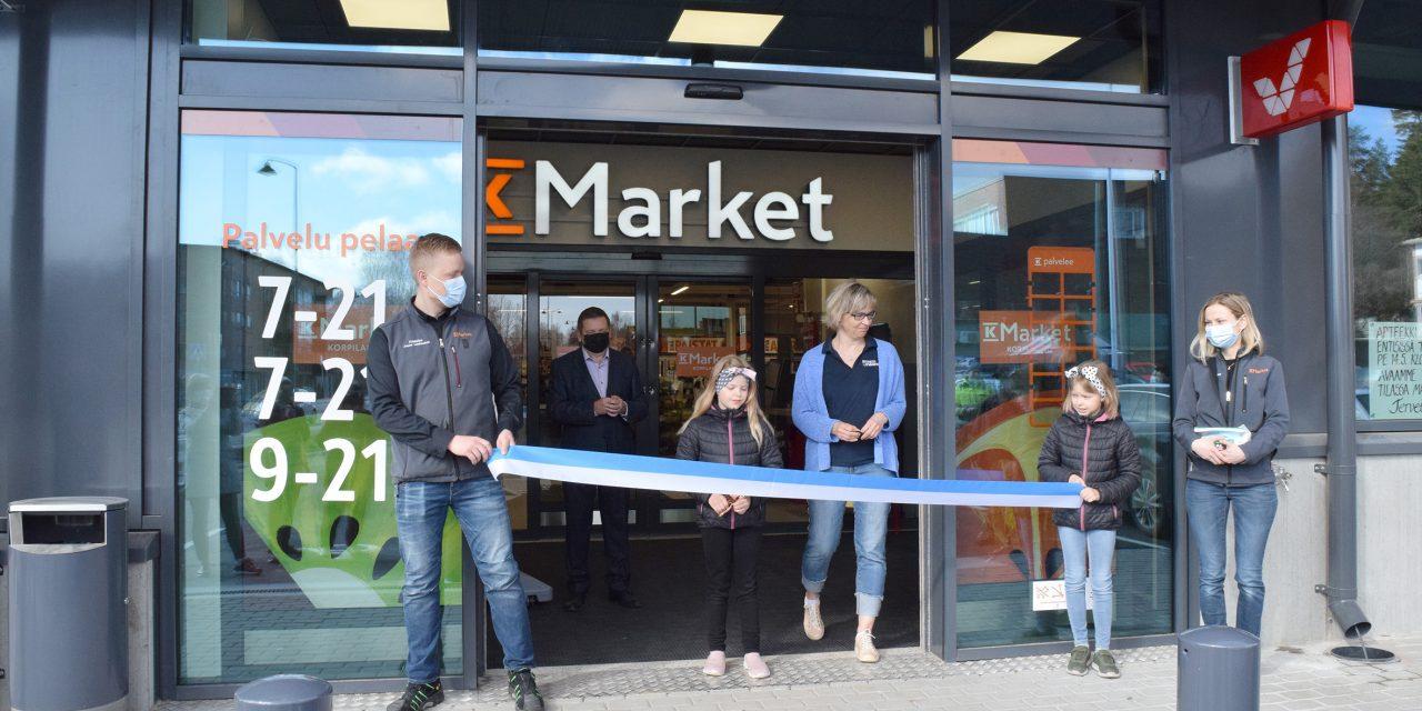 K-market avasi uuden liiketalon